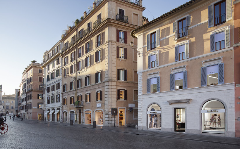 La nuova boutique Chanel a Roma, pic by Olivier Saillant©