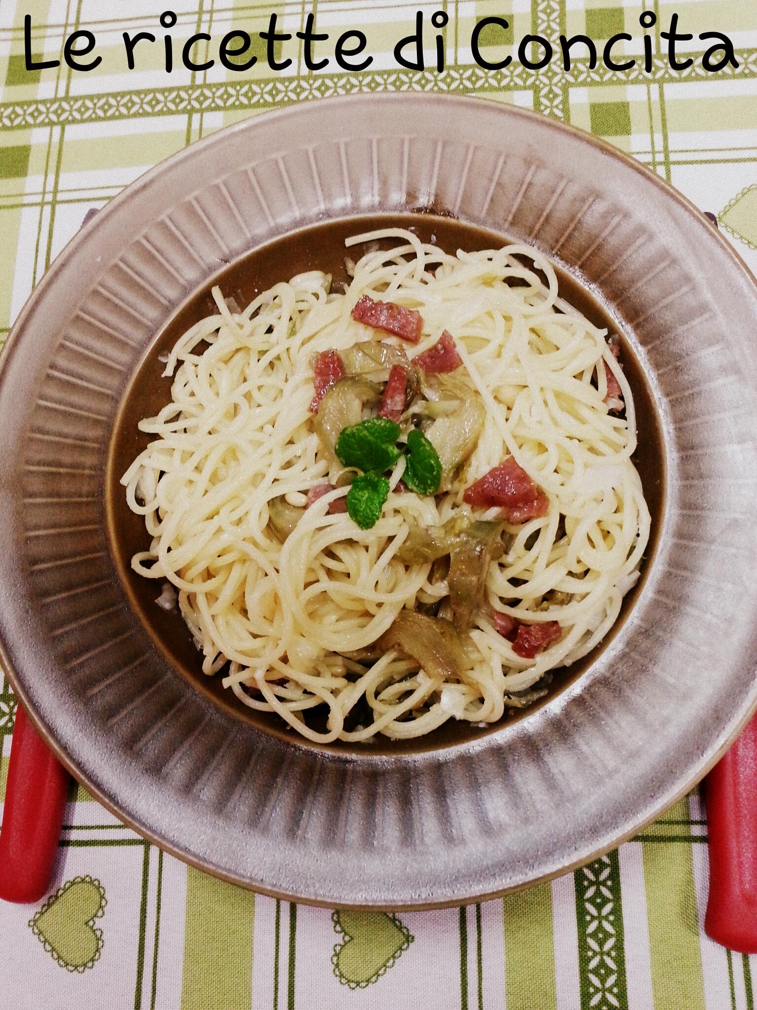 Spaghetti saporiti mockup magazine for Cucinare sinonimo