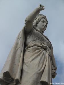 Monumento a Eleonora d'Arborea, Oristano, Foto di Tuveri©