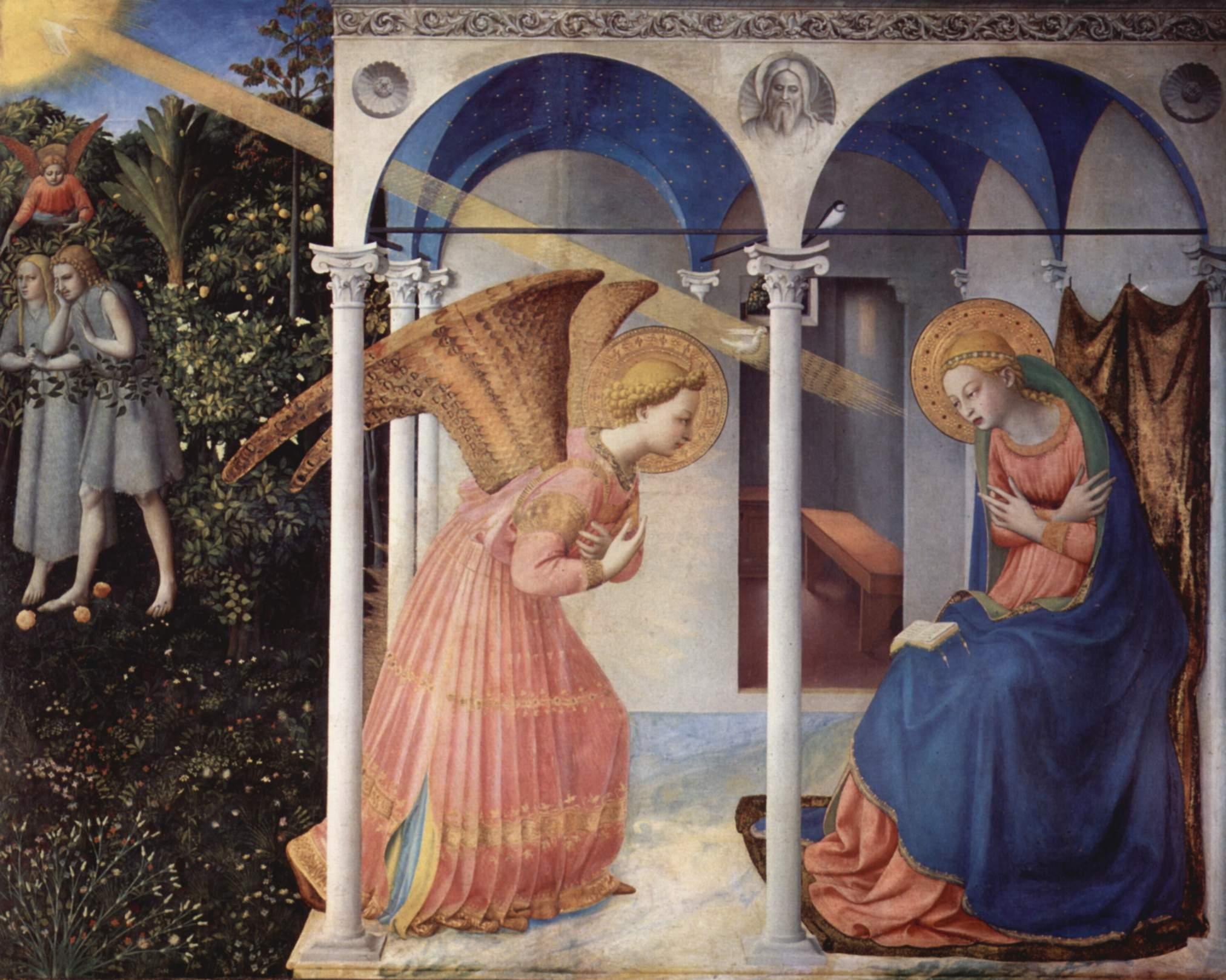 BEATO ANGELICO, Annunciazione, 1430-1432 Museo del Prado