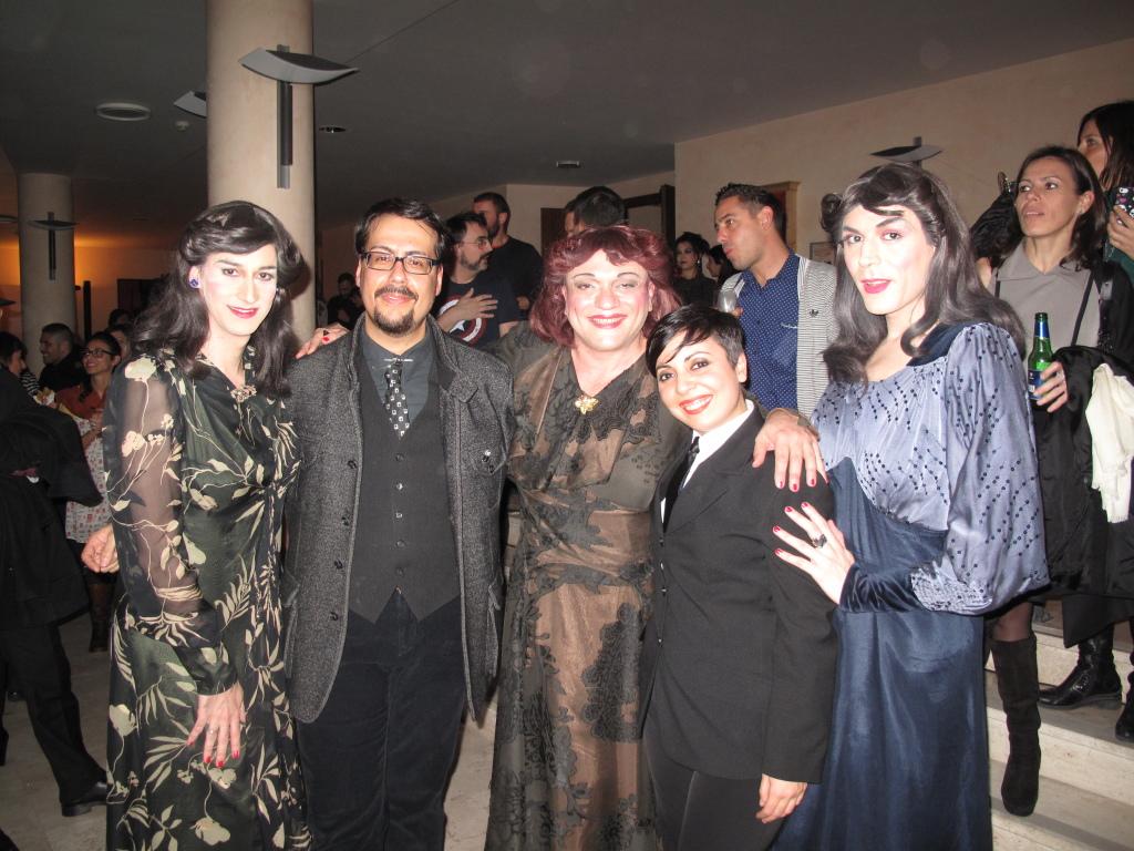 Le Sorelle Marinetti incontrano il Direttore e il Direttore Creativo di MockUp, Pic by Duranti
