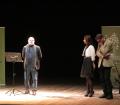 Gli scrittori sardi ricordano Sergio Atzeni, Desogus introduce la serata, Teatro Massimo, Cagliari, 11 gennaio 2015
