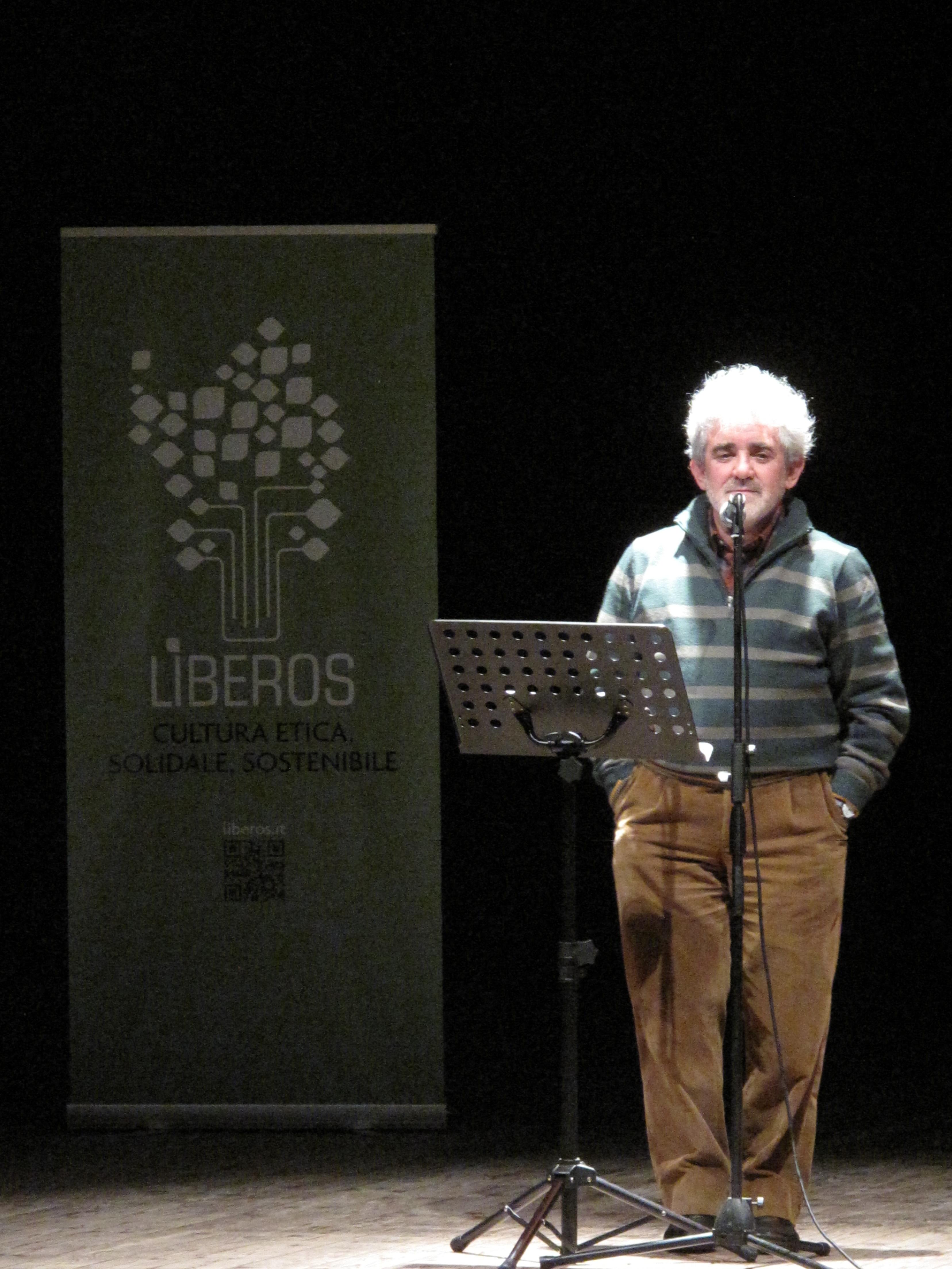 Gli scrittori sardi ricordano Sergio Atzeni, Bruno Tognolini, Teatro Massimo, Cagliari, 11 gennaio 2015