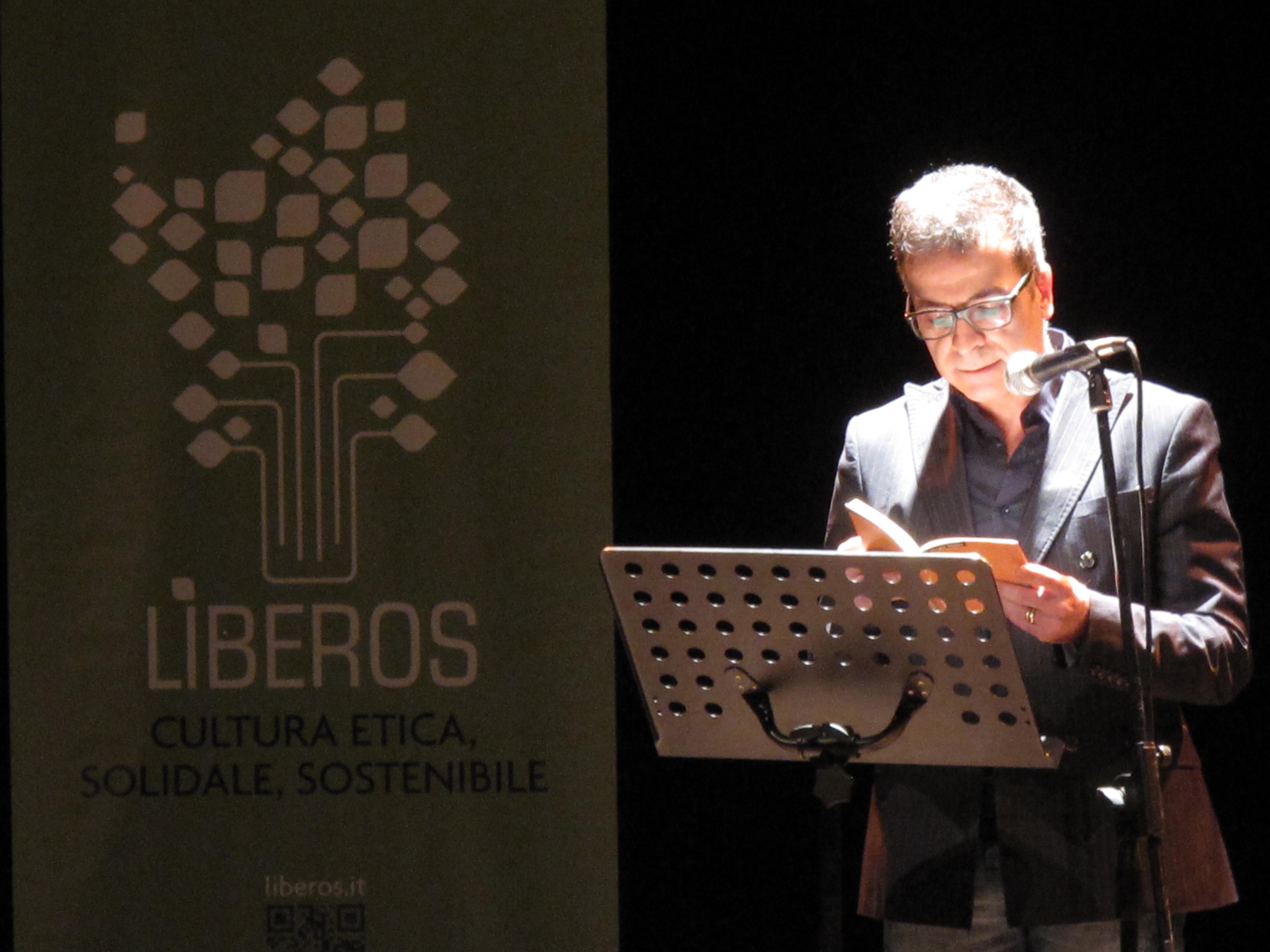 Gli scrittori sardi ricordano Sergio Atzeni, Marcello Fois, Teatro Massimo, Cagliari, 11 gennaio 2015