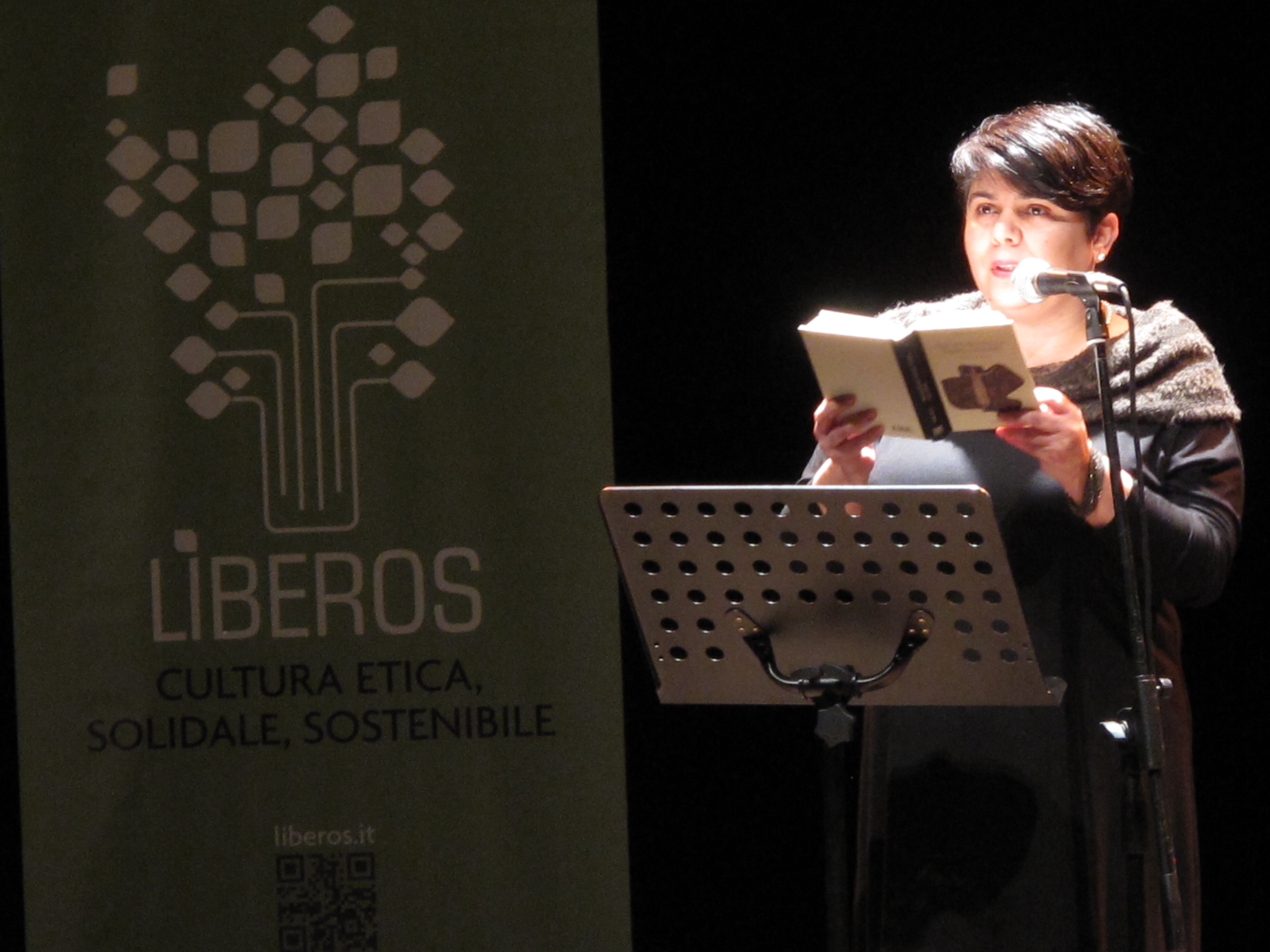 Gli scrittori sardi ricordano Sergio Atzeni, Michela Murgia, Teatro Massimo, Cagliari, 11 gennaio 2015
