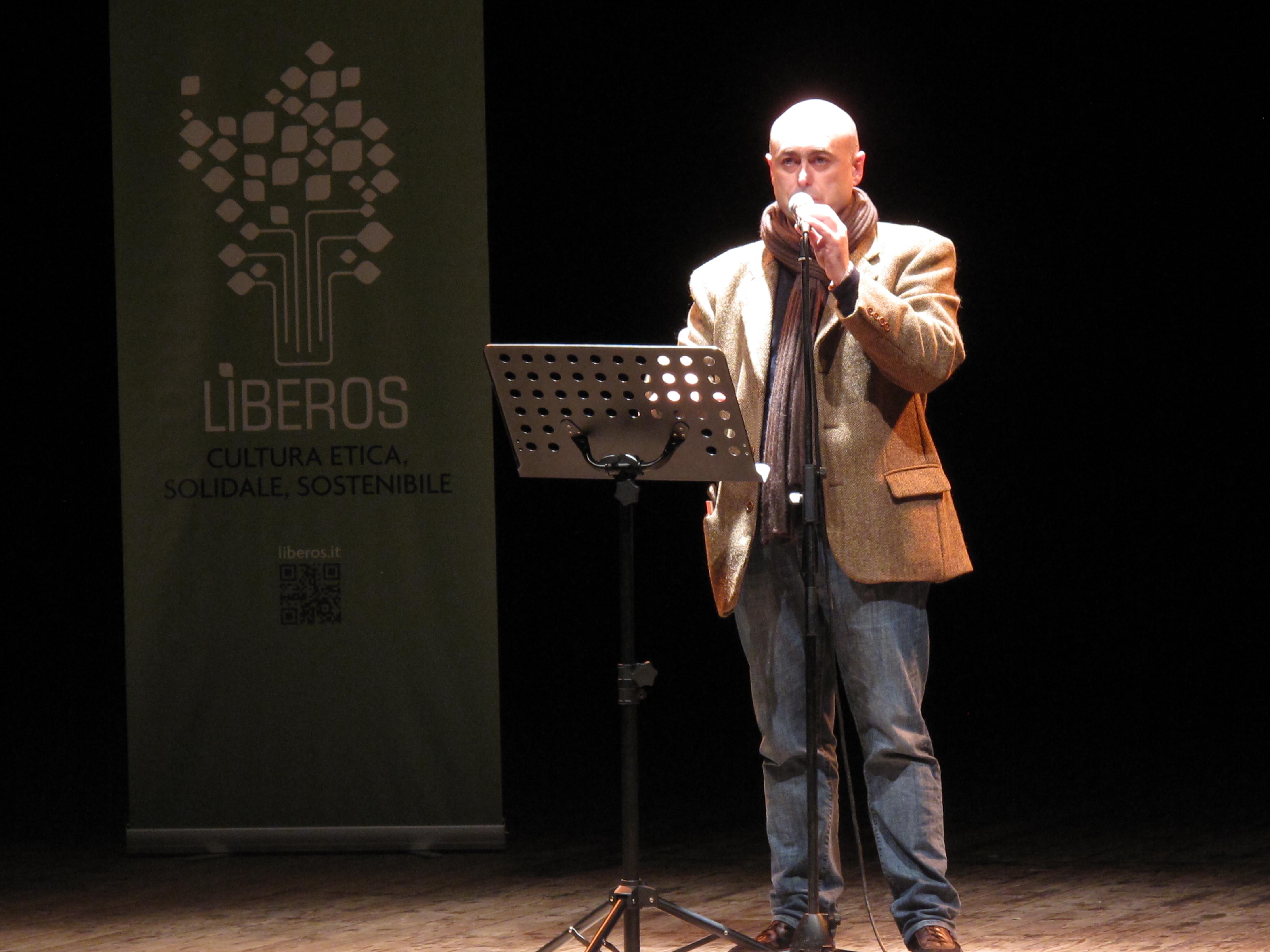 Gli scrittori sardi ricordano Sergio Atzeni, Celestino Tabasso, Teatro Massimo, Cagliari, 11 gennaio 2015