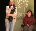 Gli scrittori sardi ricordano Sergio Atzeni, Rossana Copez e l'Assessore Firino, Teatro Massimo, Cagliari, 11 gennaio 2015