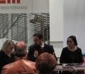 Le Sorelle Delunas, presentazione del fotoromanzo, Tore Cubeddu, elizabetta Randaccio e Antonella Puddu, 17 gennaio 2015, (Pic by Duranti)