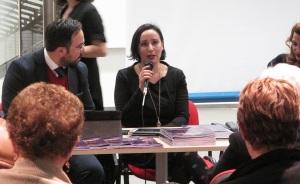 Le Sorelle Delunas, presentazione del fotoromanzo, 17 gennaio 2015, Antonella Puddu (Pic by Duranti)