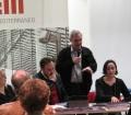 Le Sorelle Delunas, presentazione del fotoromanzo, Franciscu Cheratzu, Tore Cubeddu e Antonella Puddu, 17 gennaio 2015, (Pic by Duranti)
