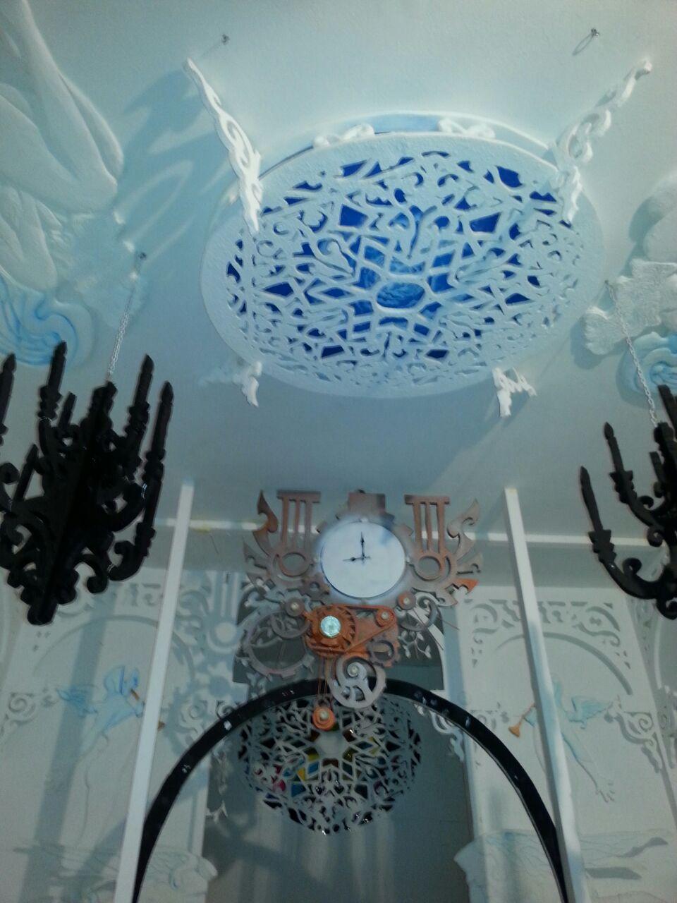 Lesicade House allestimento scenico di Mattia Cogoni e Chiara Cossu
