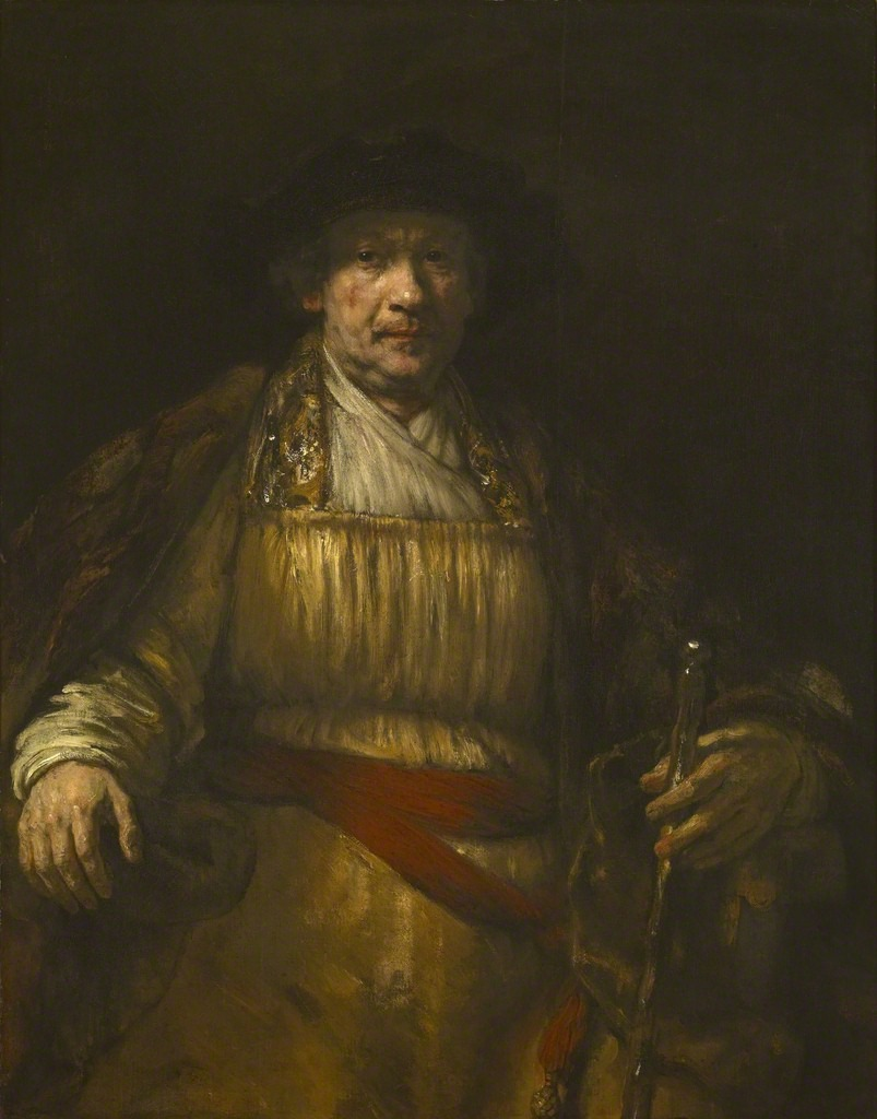 REMBRANDT HARMENSZ. VAN RIJN, Autoritratto, 1658 The Frick Collection, New York