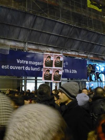Manifestazione #JeSuisCharlie, 7 gennaio 2015, Parigi - Pic by Tiphaine Martin