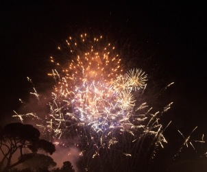 Carnevale romano, Fuochi d'artificio, Photo by Veronica Guerra