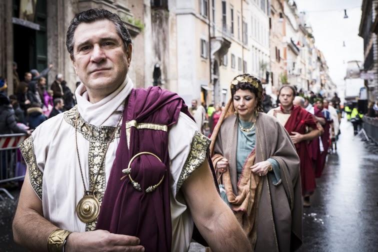 Carnevale romano, Gruppo Storico, Photo by Barbara Roppo