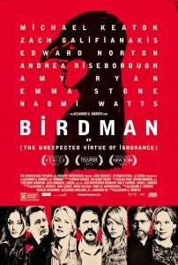 Birdman, locandina