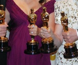 Premio Oscar 2011, Christian Bale, Natalie Portman, Melissa Leo e Colin Firth