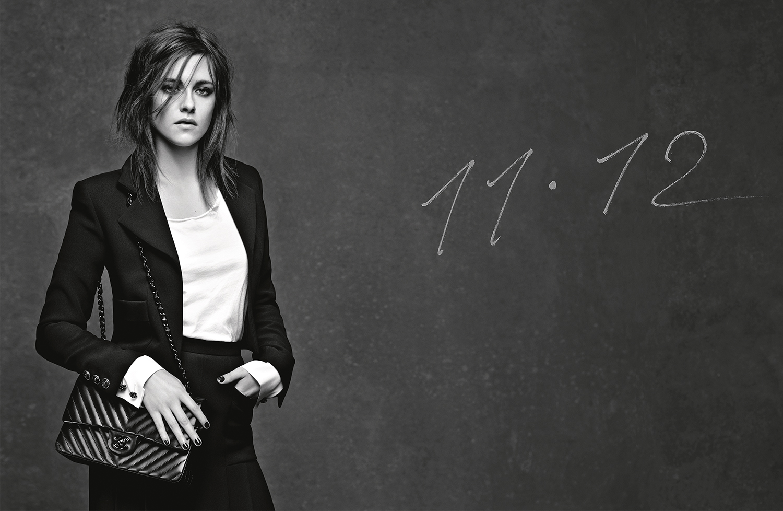 11.12 Handbag, Kristen Stewart by Karl Lagerfeld for CHANEL©