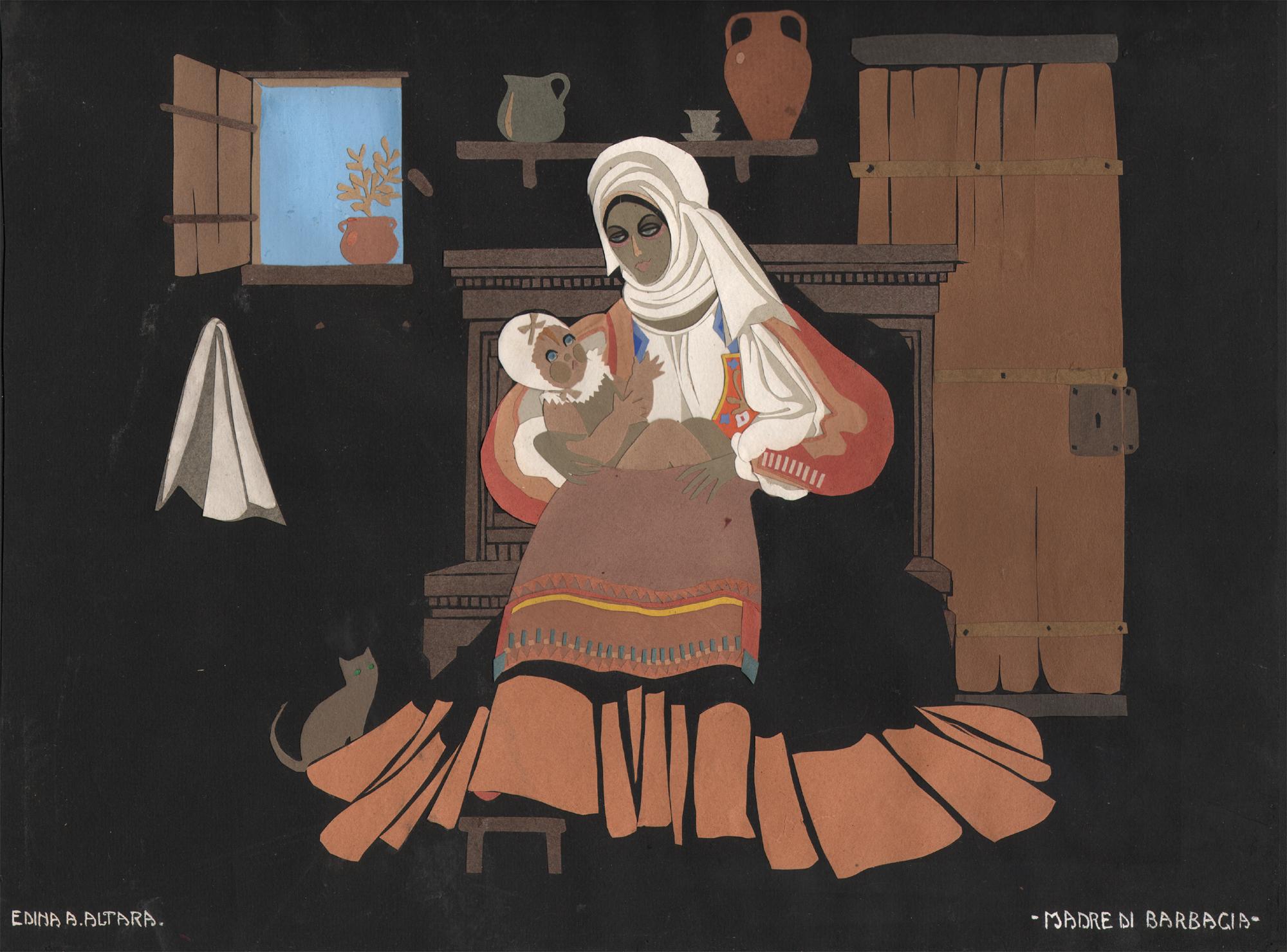 Madre di Barbagia, Edina Altara, anni '20