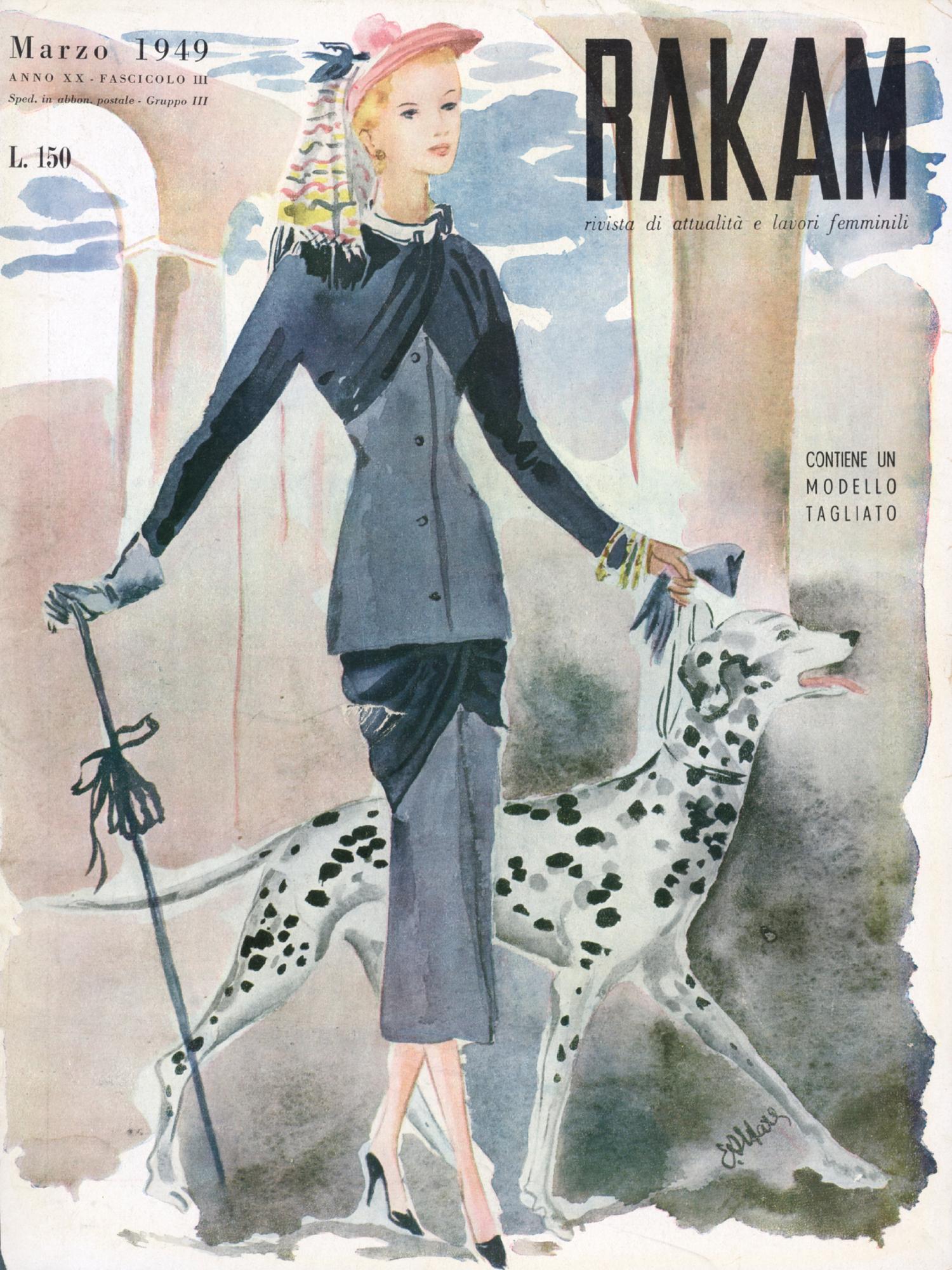 Rakam n. 3 Marzo 1949, Edina Altara