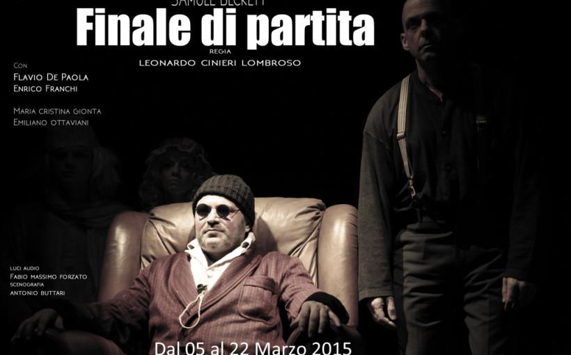 Finale di partita, Teatro degli Audaci, locandina