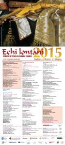 Echi lontani 2015 - Clicca per visualizzare la locandina