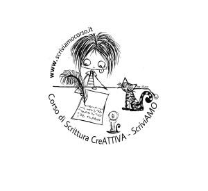 Corso di Scrittura CreAttiva - ScriviAMO, il logo