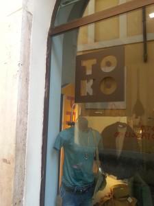 Toko Roma, boutique a Roma