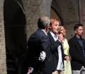 Sfila che ti passa, Cagliari, Villa Muscas, Alessandro Cau presidente del Rotaract di Quartu introduce la serata, Pic by Duranti©