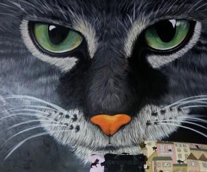 La bottega delle meraviglie, dipinto di Donatella Carta - Violrojo Painter