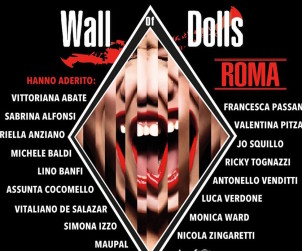 Wall of Dolls a Roma