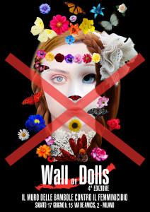 Wall of Dolls, 4° edizione a Milano
