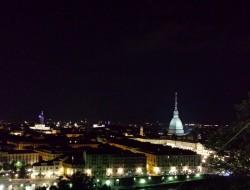 Torino, veduta notturna