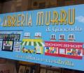 Nuova insegna della Libreria Murru