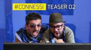 """#Connessi, immagine dal teaser """"Ma Samantha Cristoforetti l'avrà visto il derby?"""" - All rights reserved"""