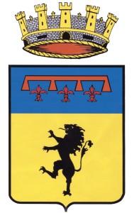 Acquapendente, stemma della città nell'estremo settentrione della provincia viterbese
