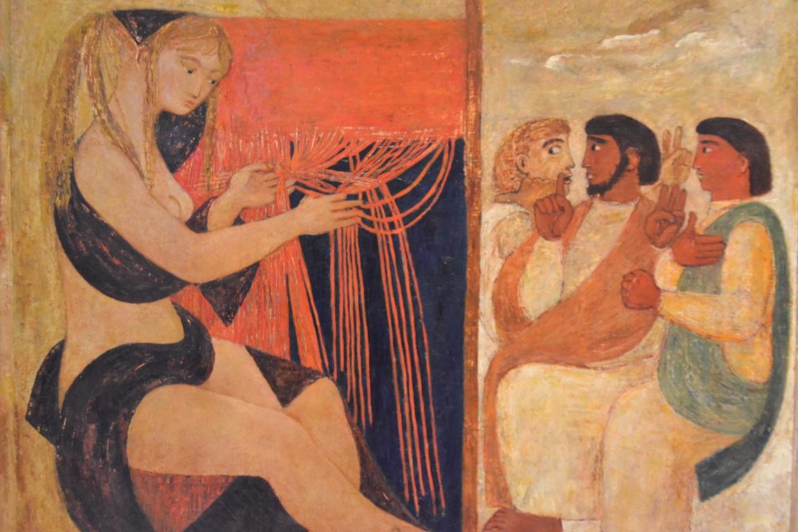 Edina Altara, Penelope , anni '50, Mostra Altara, THotel, Cagliari