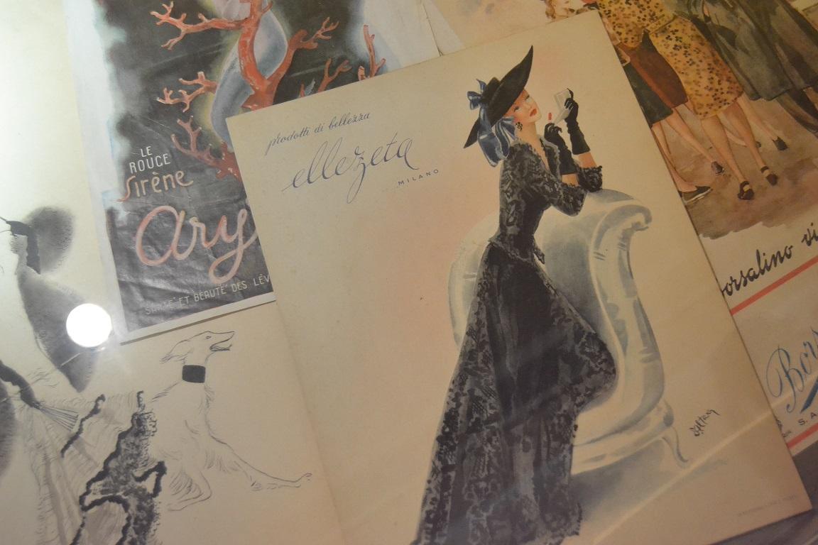 Edina Altara, illustrazioni su riviste, Mostra Altara, THotel, Cagliari