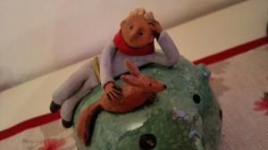 Piccolo principe, Tra il serio e il faceto ceramiche, di Maria Grazia Mele. Creative Corner Market - CCM, Halloween Edition 2015
