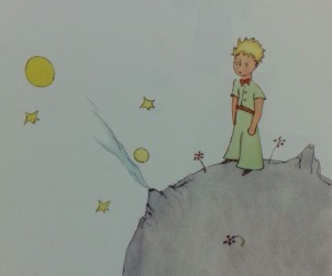 Il Piccolo Principe, disegno originale di Antoine de Saint-Exupéry