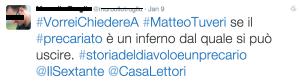 Alcune domande poste a Matteo Tuveri per l'hashtag