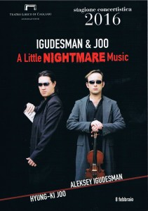 Locandina Igudesman & Joo al Teatro Lirico