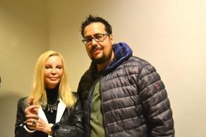Patty Pravo e Matteo Tuveri, Direttore Creativo di MockUp Magazine (Foto di AndreaDuranti©)