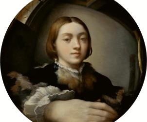 Parmigianino, autoritratto