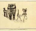 "Paul Klee, ""Tierfreundshaft"", Amicizia tra animali, 1923."