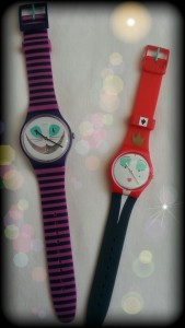 "Swatch, modelli ""Cat me up"" e ""WonderQueen""."
