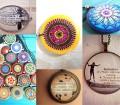 Immagine: creazioni de L'Atlante dei Bottoni e La Flor Azul, collage (tutti i diritti riservati).