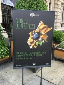 Gioielli vertiginosi, Ada Minola a Palazzo Madama di Torino.