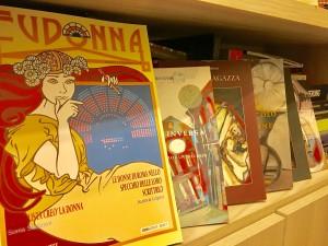 Alcuni prodotti editoriali de Il Sextante, di Mariapia Ciaghi, sugli scaffali delle librerie