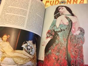 Eudonna, Edizioni Il Sextante (Ana Maria Erra©, Cleopatra, collage, particolare)